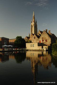 Um dia de verão em Bruges - Viajando por aí  #europa #belgica #brugge #bruges #viagem
