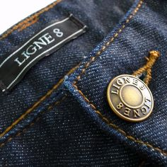 Antwerp Slim Fit Jean by www.Ligne8.com premium Japanese denim featuring NANOtex technology to provide extremely durable resistance to the elements.