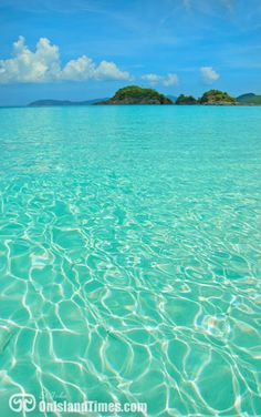 TOP 10 BEACH - Trunk Bay Beach, St John, US Virgin Islands.
