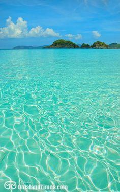 TOP 10 BEACH - Trunk Bay Beach, St John, US Virgin Islands.