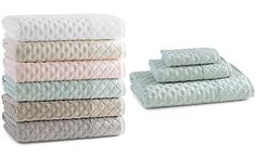 Kassatex Bath Towels, Diamant Collection