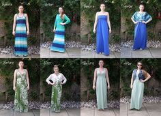 I am uploading a video on Styling Maxi Dresses & here is the Before & After shots for it ! :)   Post -> http://livelife-yourway.weebly.com/2/post/2012/08/styling-maxi-dresses.html