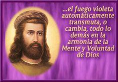 Fuego violeta y la memoria de Dios