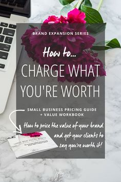 DESCRIPTION: Small Business Pricing Guide + Creative Process Workbook How to price your products and services, and get your client's to say…