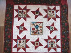 Quilted wall hanging  throw  lap quilt wheelchair sofa quilt Quiltsy handmade by…