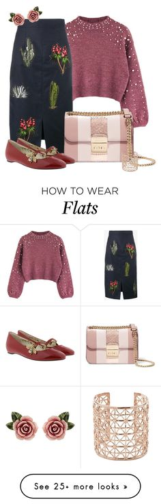 """Untitled #1137"" by kaishabackwards on Polyvore featuring STELLA McCARTNEY, Dolce&Gabbana, MICHAEL Michael Kors, Co.Ro and Gucci"