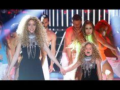 Anna Simon y Nayra imitan a Shakira en Tu cara me suena Mini