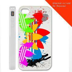 adidas paint art on iphone 4, iphone 5