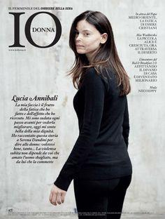 """Il mio viso, la mia storia: Lucia Annibali si racconta a """"Io Donna"""""""