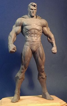 Jim Lee Superman WIP by davjames on deviantART