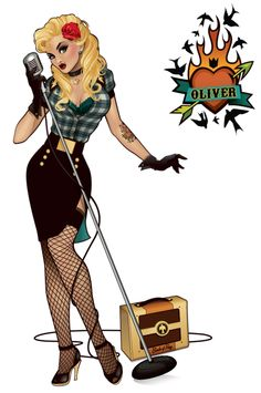 Bombshell Breakdown: Black Canary by Ant Lucia