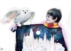 Harry Potter Fan Art in 12 Magical Styles - from Angie Blakewood. Harry Potter Fan Art in 12 Magical Styles Fanart Harry Potter, Harry Potter Kawaii, Images Harry Potter, Wallpaper Harry Potter, Harry Potter Characters, Harry Potter Fandom, Cartoon Characters, Pintura Do Harry Potter, Arte Do Harry Potter