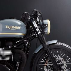 @caferacergram by CAFE RACER www.facebook.com/caferacers #caferacergram #caferacer #caferacers | Triumph T100 By @bunkercustoms #bunkercustoms #triumph #triumphmotorcycle #hinckleytriumph #classic motorcycle #triumphcaferacer | See more of this bike right now on our facebook [ link in profile ].