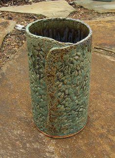 Ceramic Slab Vase