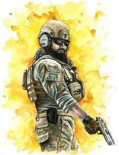 Rainbow six siege artwork, credits goes to the artist