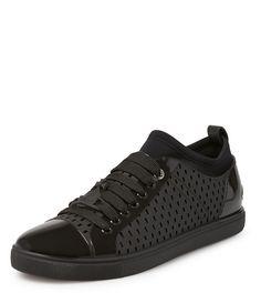 VIVIENNE WESTWOOD Orb Enamelled Sneakers Black. #viviennewestwood #shoes #