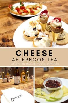 Cheese afternoon tea at Pimlico Pantry. Travel in Europe.