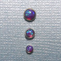Hey, I found this really awesome Etsy listing at https://www.etsy.com/listing/177590697/set-of-three-indigo-opal-in-steel