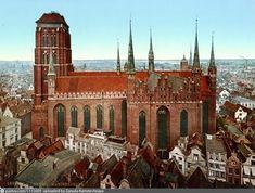 Danzig. Marienkirche Danzig, Barcelona Cathedral, Building, Travel, Viajes, Buildings, Destinations, Traveling, Trips