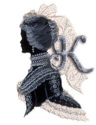 Alfabeto vintage dama victoriana. | Oh my Alfabetos!