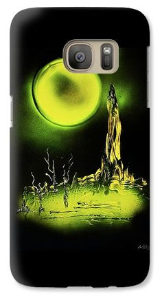 Land Of Rituals Galaxy S7 Case Printed with Fine Art spray painting image Land Of Rituals by Nandor Molnar (When you visit the Shop, change the orientation, background color and image size as you wish)