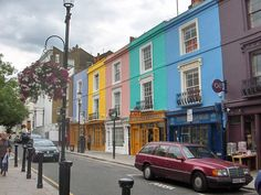 notting hill . portabello road . london . england