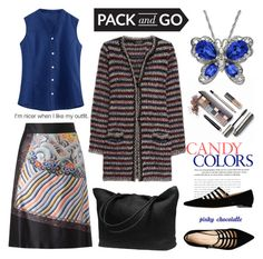 """""""Pack and Go Tokyo: 12/05/16"""" by pinky-chocolatte ❤ liked on Polyvore featuring Dries Van Noten, Laura Mercier, Isabel Marant, Carlo Pazolini and Lab"""