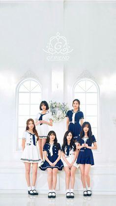 Gfriend wallpaper Lockscreen Fondo de pantalla Kpop Umji Sowon Yuju Yerin SinB Eunha Japan