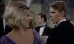 Kim Novak and David Bowie in Just A Gigolo