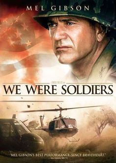 """""""We Were Soldiers""""---Mel Gibson Heads A Wonderful Cast In A Drama Amidst the Vietnam War and the Military Life.Stunning Screenplay, Performance and A Great Film In Every Way.I Loved It! Love Movie, Movie Tv, Movie List, Movies Showing, Movies And Tv Shows, Capas Dvd, Image Film, Cinema Tv, War Film"""