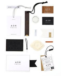 Nilorn Concept - A.S.H Equal is a gender-free brand focussed on equality. Minimalism runs throughout - combined with a limited, neutral colour palette. #fashion #branding #swingtickets #labels #inspiration #packaging #design #creative #unisex #minimalist nilorn.co.uk