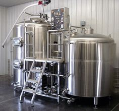 Dear Santa: All I want for Christmas is this Stainless Steel brewhouse.