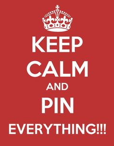 Keep calm and pin EV