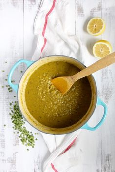 Split Pea Soup with Lemon and Thyme- Emma's Little Kitchen