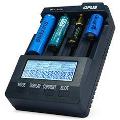 Hot sale! 2015 Original Opus BT-C3100 V2.2 LI-ion NiCd NiMh LCD Smart Intelligent Battery Charger Free Shipping ( EU/US Plug ) #Affiliate