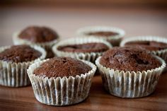 low carb double chocolate muffins recipes I love ingestion chocolate any time of day, however I'm a large fan of getting it for breakfast Muffins Double Chocolat, Double Chocolate Muffins, Protein Muffins, No Carb Recipes, Muffin Recipes, Homemade Chocolate, Chocolate Desserts, Baking Muffins, Healthy Desserts