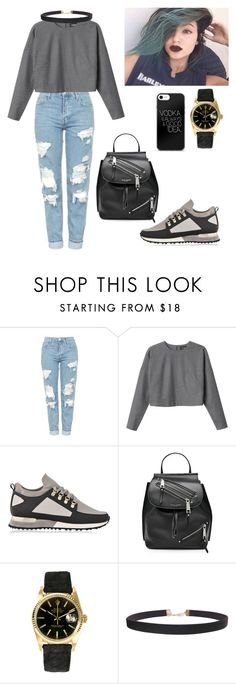 """Без названия #147"" by yonceb ❤ liked on Polyvore featuring Topshop, Monki, MALLET, Marc Jacobs, Rolex and Humble Chic"