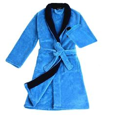 "Kids Boys Girls Cartoon Bathrobe Winter Warm Fleece Cover-up Gown Belt Night Robe Sleepwear. Luxury feel and 100% high quality Coral Fleece made,super soft ,warm and comfortable. A great Christmas gift,birthday gift for boys 11-16 years old. Comes with adjustable single belt loop for comfort wearing, easy to control; double-stitched pockets decorated, machine washable. Soft and cozy feel great for lounging around the house. Ideal for Home, Travel, Hotel, Spa use. M: Length: 34.65"" Sleeve..."