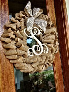 Rustic Christmas wreath from Etsy