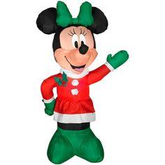 "Airblown Winter Minnie  Available At These Retailers:  Walmart, Dollar General, Toys ""R"" Us, Garden Ridge, Walmart.com, Sears Canada"