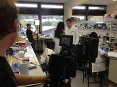 HMA filming at Norwich Research Park
