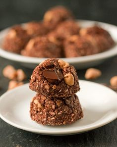 100hole Grain Chocolate Peanut Butter Macaroons
