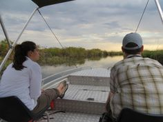 Motorboat excursion at #MoremiGameReserve  #Botswana, #Africa