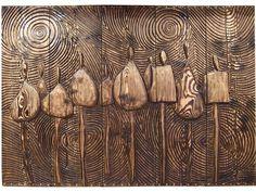 Panneaux sculptés | Etienne Moyat