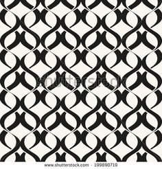 Vector seamless pattern. Modern stylish texture. Repeating abstract background. Stylish grid