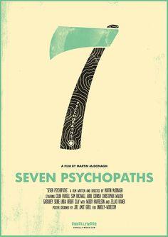 Seven Psychopaths by Joel Amat Güell