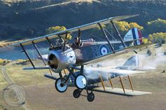 Sopwith Camel and Bristol Fighter