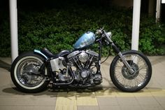 chopcult - Swing-arm choppers. Can they look good?