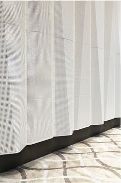 Tabanlioglu Architects: Sipopo Congress Center // Folded Perforated Facade