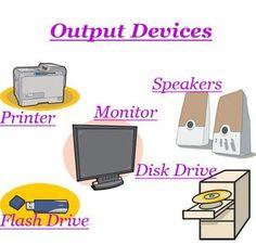 10 Best output devices images | Output device, Clip art ...